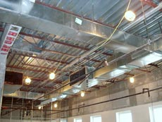 Commercial Air Conditoning Ducts